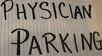 physician parking