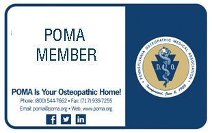 POMA membership card