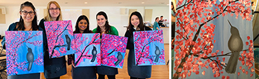 UPMC Lititz Residency Paint Night
